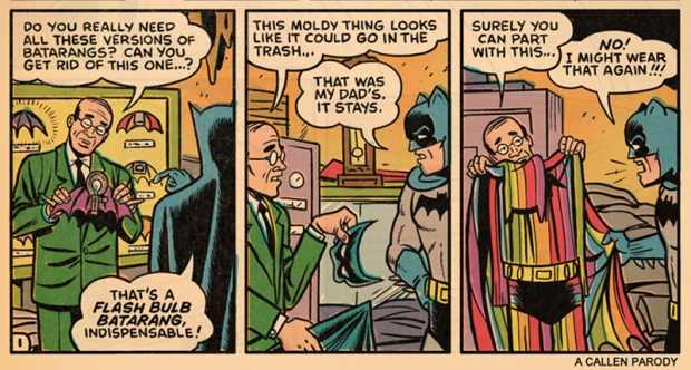 We all do it- even batman